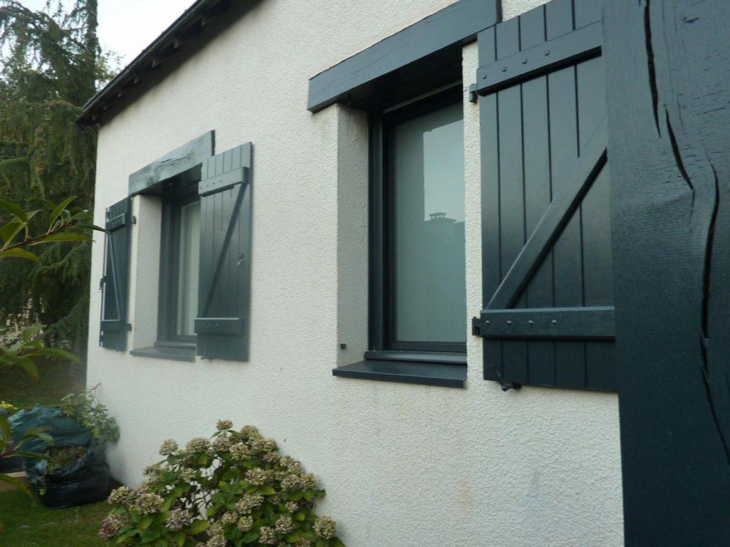 Volets de fenêtres sur mesure